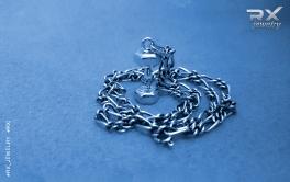 Украшение гантеля. Кулоны для спортсменов серебряные. #RX_Jewelry