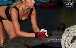 Подарок спортсмену - подвеска гантелька. Серебро. #RX_Jewelry