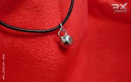Фитнес подарок. Кулон гиря. #RX_Jewelry #RXj