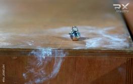 Подвеска серебряная гиря 24кг. Спортивные ювелирные украшения. #RX_Jewelry