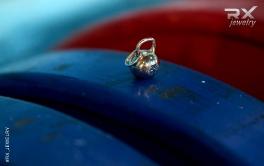 Кулон гиря. Подвеска в виде гири. #RX_Jewelry #RXj