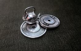 Серебряные фитнес подарки. спортивные ювелирные украшения. #RXj #RX_Jewelry