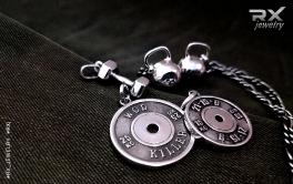 Кулоны подвески для атлетов. Спортивный инвентарь в серебре для подарков. Оригинальные украшения. #RXj #RX_Jewelry