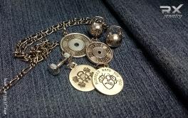Фитнес подарки. Спортивные украшения и сувениры. Серебряные гирьки, гантельки, медали и диски от штанги. #RXj #RX_Jewelry