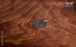 Спортивный кулон из серебра. #RX_Jewelry #RXj
