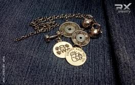 Кулоны для спортсменов серебряные. Подвеска медаль Веселый Роджер #RX_Jewelry #RXj