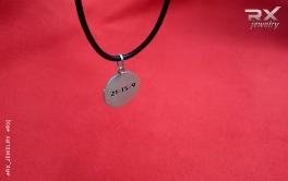 Двухсторонний медальон подвеска Веселый Роджер. Сторона оборотная. #RX_Jewelry #RXj