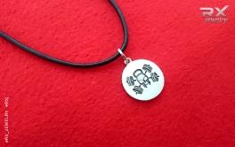 Подвеска-медаль Веселый Роджер. Оригинальный подарок для спортсмена. #RX_Jewelry #RXj