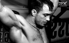 Кулон медаль Веселый КросФит Rodger 21-15-9. Подвеска спортивная на шею. #RX_Jewelry #RXj