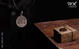 Спортивные сувениры в подарочной упаквке. Медальон-подвеска Jolly Rodger/ #RX_Jewelry #RXj