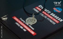 Кулон из серебра Rodger. Родий. #RX_Jewelry #RXj