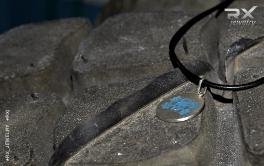 Веселый Роджер с гантелями из серебра 925 пробы. #RX_Jewelry #RXj