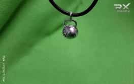 Подвеска кулон гиря WOD. Подарок КросФит спортсмену. #RXj #RX_Jewelry